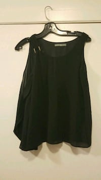 women's black sleeveless top Montréal, H1T 2J6