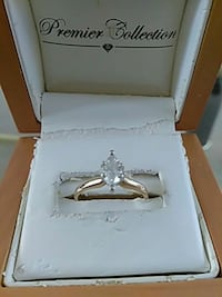 24 k gold band size 5 ring with box Dallas, 30132