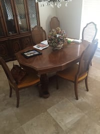 Antique Dinner table with 6 chairs 940 mi