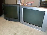 """Two 27"""" CRT tv's"""