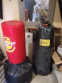 2 martial art bags , Kung Fu wooden dummy Calgary, T3K 5T9