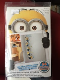 Despicable Me 2, 24 Peel and Stick Wall Decals (Removable & Repositionable) Richmond Hill, L4C 9S5
