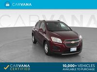 2016 Chevy *Chevrolet* *Trax* LT Sport Utility 4D hatchback Dk. Red Downey