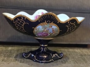 Limoges design fruit bowl