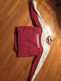 red and white Nike pullover hoodie Derwood, 20855