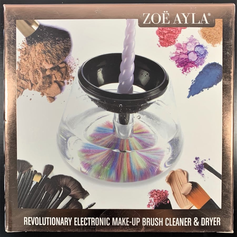 Zoe Ayla Revolutionary Electronic Make-up Brush Cleaner and Dryer