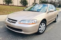 Only $3300 ! 2000 Honda Accord Leather Clean title No check engine light  Silver Spring