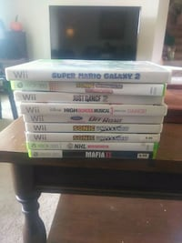 Various games and Wii system Hamilton, L8S 2T5