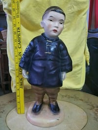 ANTIQUE CHINESE BOY STATUE