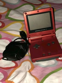 Gameboy Advance SP with Mario