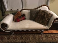 brown and beige floral fabric sofa Alexandria, 22315