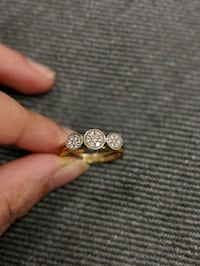 Daimond ring with 18k gold Stockholm