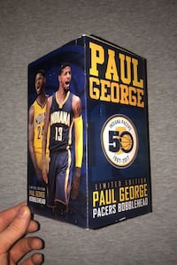 Paul George Pacers Bobblehead in Box