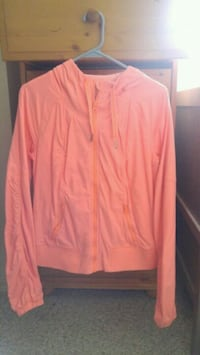 Lululemon pink zip-up jacket  Kamloops, V2B 8K2