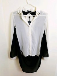 High Low Button Up Top Los Angeles, 90015