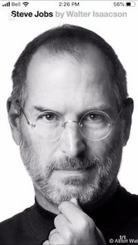 STEVE JOBS: A BIOGRAPHY byWalter Isaacson Hardcover   October 24, 2011 Cambridge, N1R