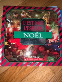 French Children's Christmas Book Hardcover Vaughan, L4H 2J1