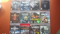12 PS3 Games Mississauga