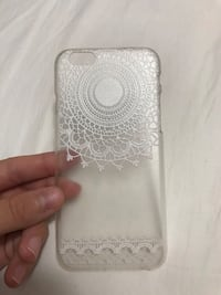 White and Clear iPhone Case for 6/6s Bethesda, 20817