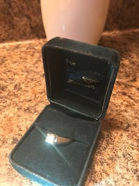+ 2 white gold bands Appraised @ $6000 Engagement Ring