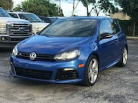 2013 Volkswagen Golf R TSI Manual Transmission Mint Condition Clean Title $3,000 Down Payment Plantation, 33324