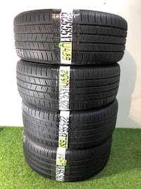 225 55 17  Continental ContiProContact Run Flat—4 used tires 70% life L176 Orlando, 32805