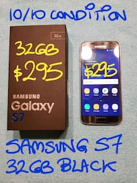 FIRM$295orTRADE SamsungS7 32GB likeNEW+box+Charger Pointe-Claire, H9R 3A3