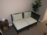 White and brown wicker patio furniture Silver Spring, 20902