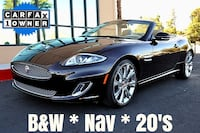 2015 Jaguar XK Convertible Caviar red metallic