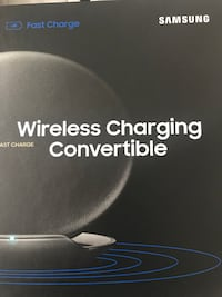 Black samsung wireless charger Hyattsville, 20784
