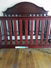 baby's brown wooden crib Mobile, 36606