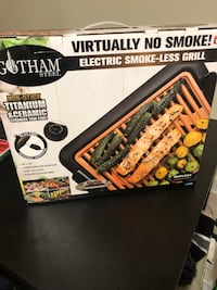 Electric smokeless grill  Bladensburg, 20710