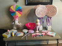 Candy party decorations Gonzales, 70737