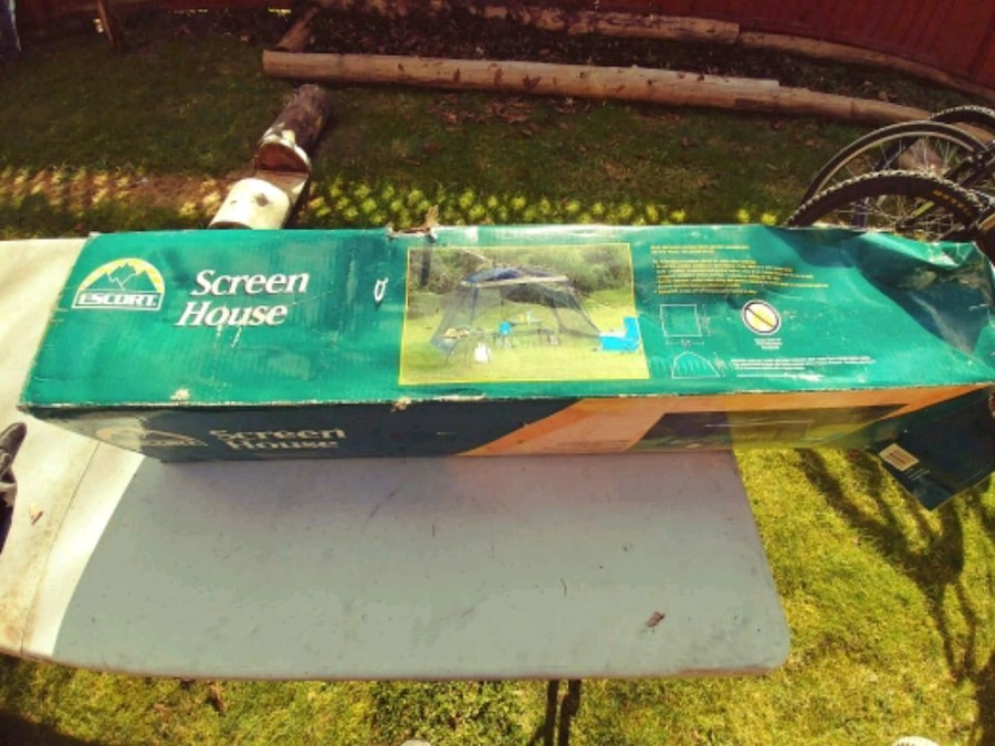 green Screen House box, used for sale  Delta