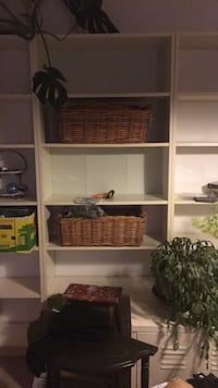 brown wooden 5-layer shelf Vancouver, V5M