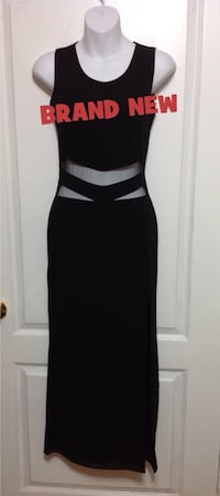 Black Cut-Out Long Dress: Size Small (New with tags) Toronto, M6G