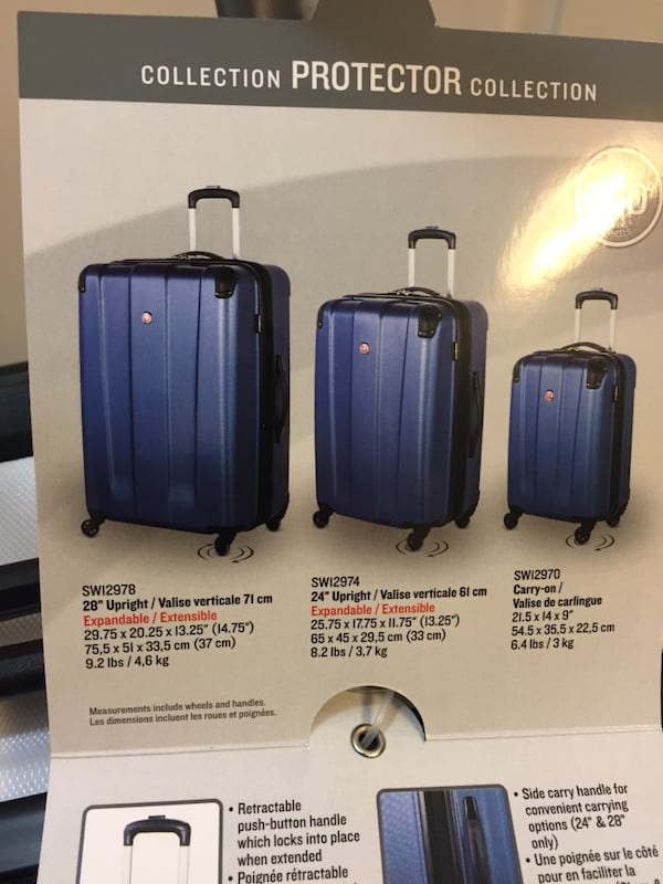 New Set of Swiss Gear Suitcases / Luggage a5af5036-1ba5-40ef-a874-899d2938ff21