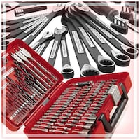 Craftsman 56pc. Universal Mechanic's Tool Set + Craftsman 100 pc drill & Drive set Houston