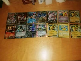 Pokemon cards EXs