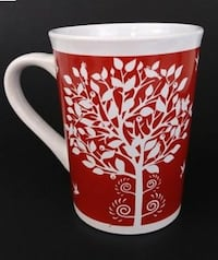 Royal Norfolk Coffee Mug Tree Of Life Birds Fairburn