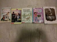 four assorted DVD movie cases Bakersfield, 93307