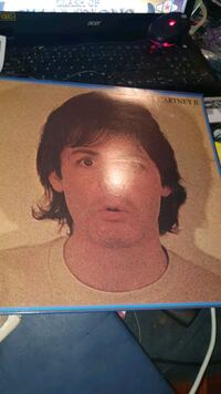 Paul McCartney LP plate vinyl