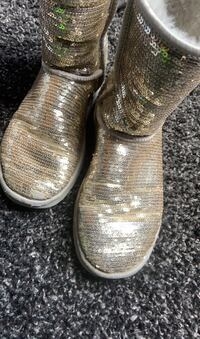 Silver Sequins Uggs Kitchener, N2H 1N6