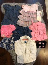 toddler's assorted clothes Vancouver