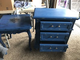 Beautiful table and night stand set
