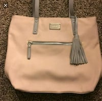 Nine west light pink and grey purse Manassas, 20109