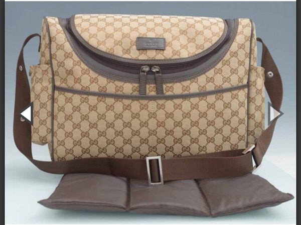faae74345b75 Used Gucci brown baby diaper bag for sale in Carteret - letgo