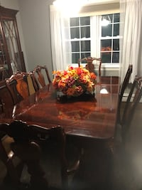 Bernhardt Dining Room Set complete with breakfront, sideboard, and bar.  6 chairs. Berkeley Heights, 07922