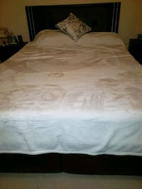 Queen Bed . It has 4 drawers under neath.matress is not included Richmond Hill, L4B 4G6