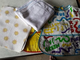 $0  Baby Blankets + Lap Pads